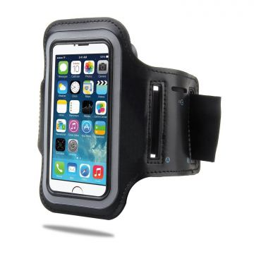 Sport Armbinde Tasche Etui für Apple iPhone 5 Schwarz  iPhone 5 : Diverse - 5