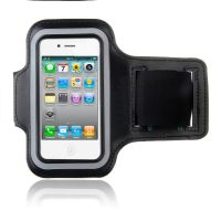 Black Sport Armband iPhone 4 4S  iPhone 4 : Accessories - 1