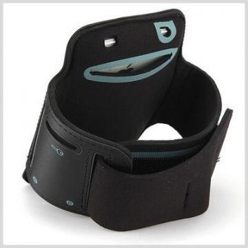 Sportarmband IPhone 4 4S zwart  iPhone 4 : Toebehoren - 4