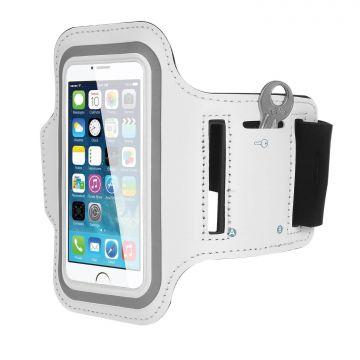 Sport Armbinde Gehäuse iPhone 4, 4S Weiss  iPhone 4S : Zubehör - 5