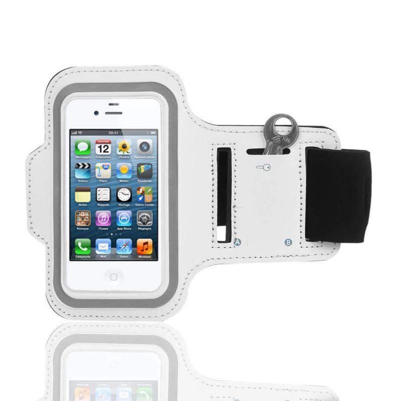 Achat Brassard Sport iPhone 4 4S Blanc ACC04-048X