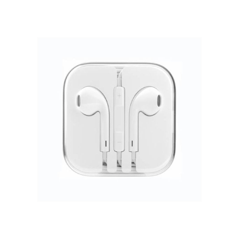 Headphones with microphone and iPhone iPod iPad volume control  iPhone 4 : Speakers and sound - 1