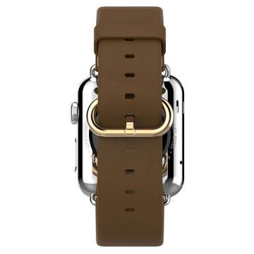 Hoco brown leather Apple Watch 40mm & 38mm bracelet with adapters Hoco Straps Apple Watch 38mm - 2