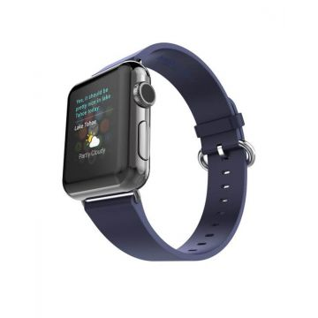 Hoco Pago Style leather Apple Watch 40mm & 38mm bracelet with adapters Hoco Straps Apple Watch 38mm - 1