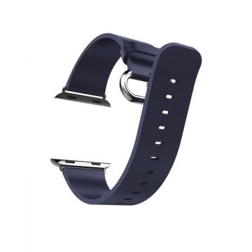 Hoco Pago Style leather Apple Watch 40mm & 38mm bracelet with adapters Hoco Straps Apple Watch 38mm - 2