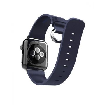 Hoco Pago Style leather Apple Watch 40mm & 38mm bracelet with adapters Hoco Straps Apple Watch 38mm - 3