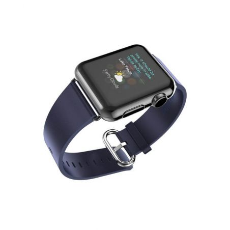 Hoco Pago Style leather Apple Watch 40mm & 38mm bracelet with adapters Hoco Straps Apple Watch 38mm - 6