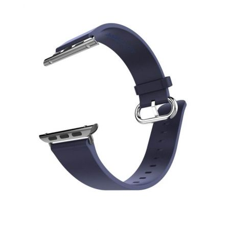 Hoco Pago Style leather Apple Watch 40mm & 38mm bracelet with adapters Hoco Straps Apple Watch 38mm - 5