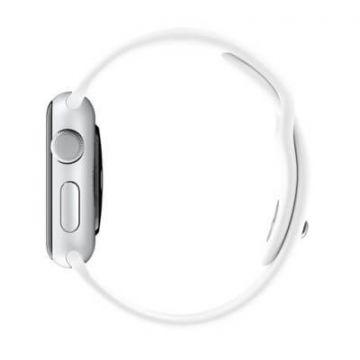 White Apple Watch 40mm & 38mm Strap  Straps Apple Watch 38mm - 3