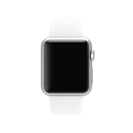 White Apple Watch 40mm & 38mm Strap  Straps Apple Watch 38mm - 4
