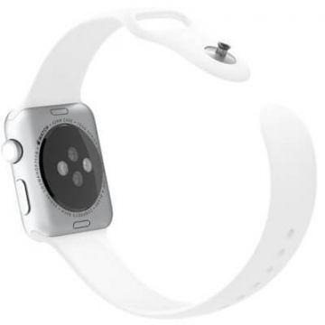 White Apple Watch 40mm & 38mm Strap  Straps Apple Watch 38mm - 5