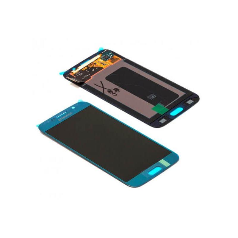 Achat Ecran complet Galaxy S6 BLEU Original GH97-17260D