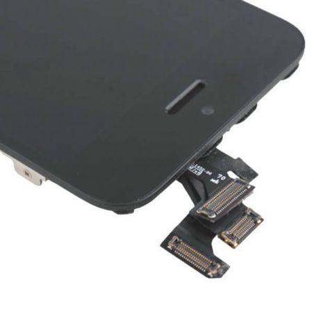 Komplettes Bildschirmset montiert BLACK iPhone 5 (Originalqualität) + Werkzeuge  Bildschirme - LCD iPhone 5 - 4