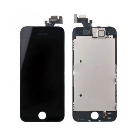 Complete screen kit assembled BLACK iPhone 5 (Premium Quality) + tools  Screens - LCD iPhone 5 - 1