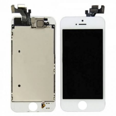 Compleet iphone 5 scherm wit - originele kwaliteit - iphone reparatie  Vertoningen - LCD iPhone 5 - 1