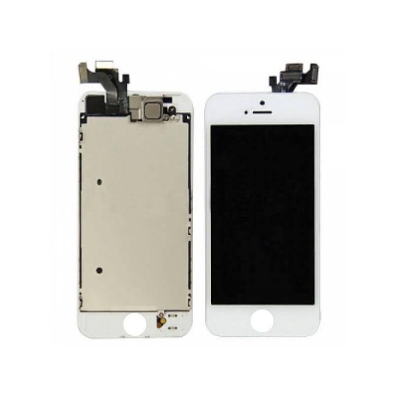 Achat Kit Ecran complet assemblé BLANC iPhone 5 (Qualité Premium) + outils KR-IPH5G-002