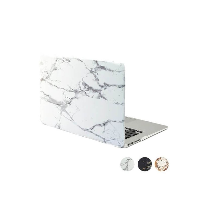 """Soft touch shell in MacBook Pro 13"""" marmeren stijl  Dekkingen et Scheepsrompen MacBook - 1"""