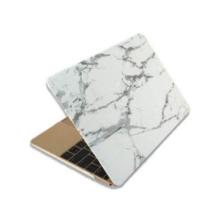 """Soft touch shell in MacBook Pro 13"""" marmeren stijl  Dekkingen et Scheepsrompen MacBook - 2"""