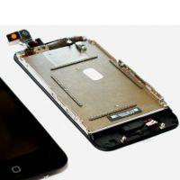 Touchscreen & LCD-Bildschirm & volles Gehäuse für iPhone 3G Schwarz