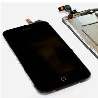 Het aanrakingsscherm & LCD het scherm & het LCD scherm & het volledige chassis iPhone 3GS van de chassiszwart