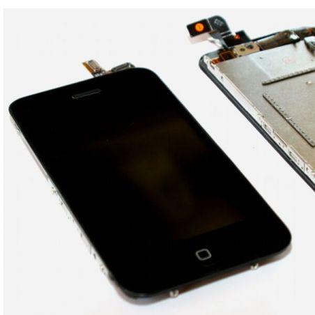 Achat Vitre tactile, LCD et châssis complet pour iPhone 3Gs noir IPH3S-003X