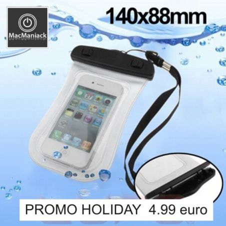 White waterproof shell (3 meters deep) iphone 3G 3GS 4 4S