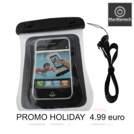 Weiße wasserdichte Hülle (3 Meter tief) iphone 3G 3G 3GS 4 4 4S