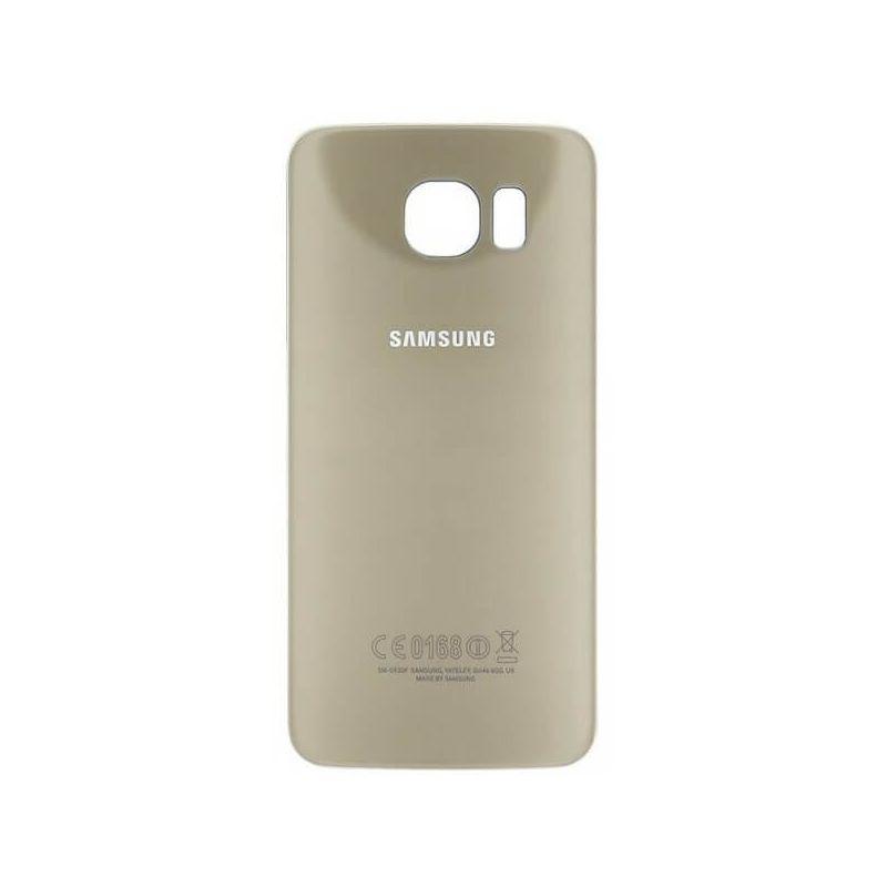 Achat Coque arrière de remplacement Or originale Samsung S6 Edge - Ecrans - Pièces détachées Galaxy S6 Edge - MacManiack