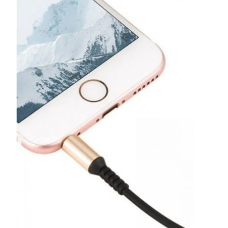 Audio cable with 200cm control Hoco UPA02 Hoco Speakers and sound iPhone SE - 2