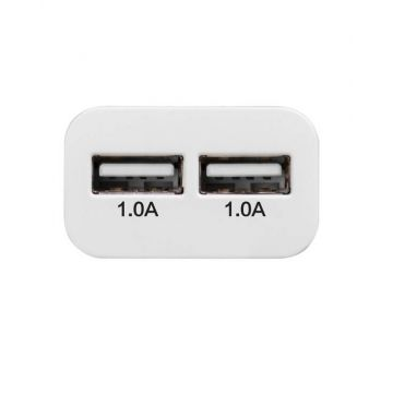 Double 1.0AMP USB charger - Hoco Hoco Chargers - Powerbanks - Cables iPhone 5C - 3