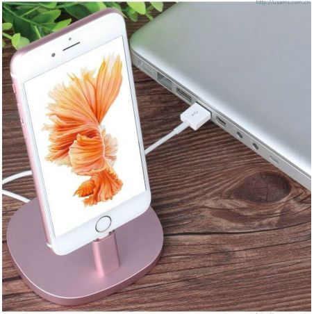 Aluminium Usams dock for iPhone  Supports and docks iPhone 5 - 17