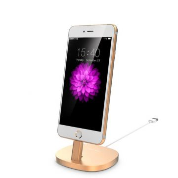 Aluminium Usams dock for iPhone  Supports and docks iPhone 5 - 11