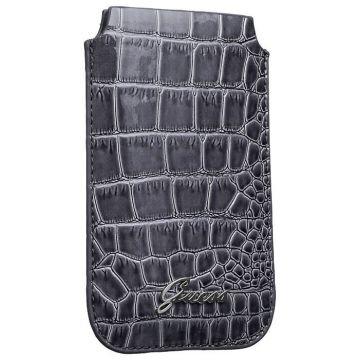 Ik denk dat Croco Cover Universal Grey Croco Universal Grey Croco Guess iPhone 5 5S SE - 1