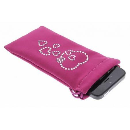 Swarovski Hearts Universele koffer met Swarovski Harten  Dekkingen et Scheepsrompen iPhone 4 - 1