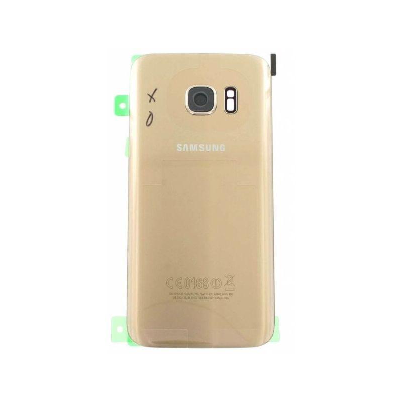 Achat Coque arrière de remplacement or originale Samsung S7  GH82-11384C