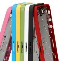 Achat Chassis et contour métallique bezel NOIR BRILLANT iPhone 4S  IPH4S-064