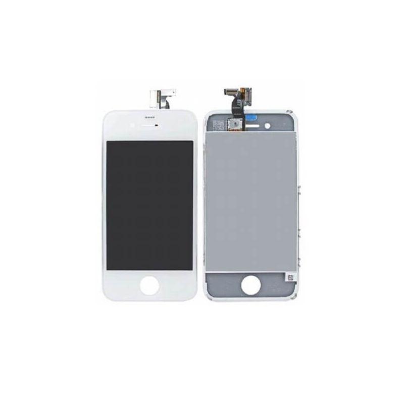 Achat Vitre tactile, LCD RETINA première qualité iPhone 4 Blanc IPH4G-005X