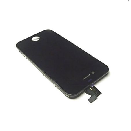 Achat Vitre tactile et LCD RETINA 2e qualité iPhone 4S Noir IPH4S-003