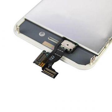 Achat KIT COMPLET première qualité: Vitre tactile, écran LCD, châssis, vitre arrière première qualité pour iPhone 4 Blanc IPH...