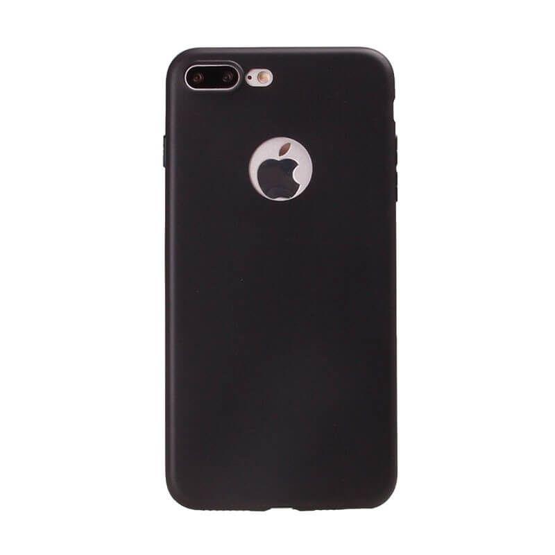 Silikonhülle für iPhone 7 Plus - Schwarz