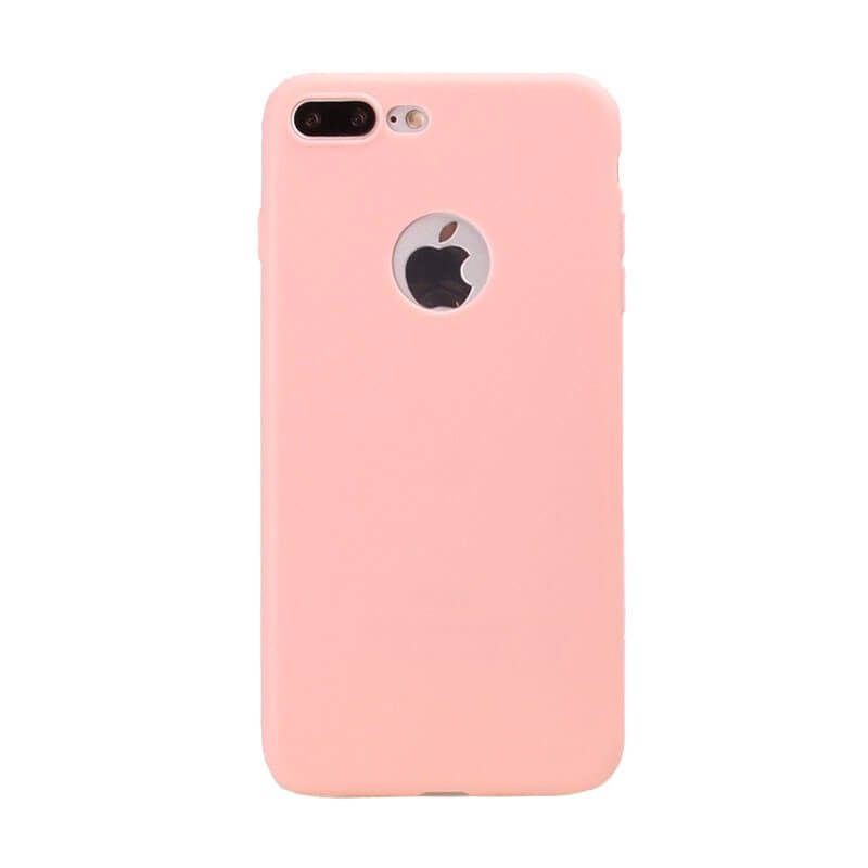 Silicone Case iPhone 7 Plus / iPhone 8 Plus - Light Pink - MacManiack England