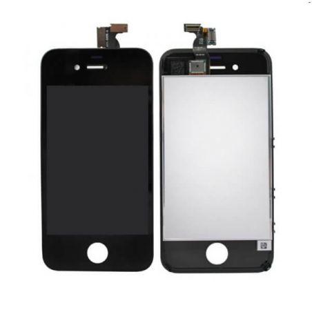Aanraakscherm & LCD scherm & compleet chassis voor iPhone 4S Zwart