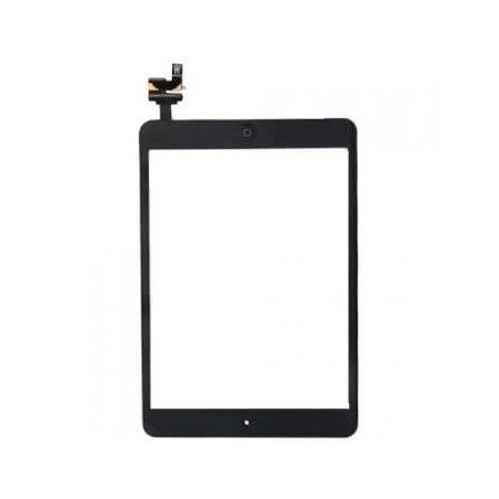 PREMIUM PACK - TOUCHED GLASS ASSEMBLY IPAD MINI 1 en 2 BLACK - TOUCHED GLASS ASSEMBLY IPAD MINI 1 and 2