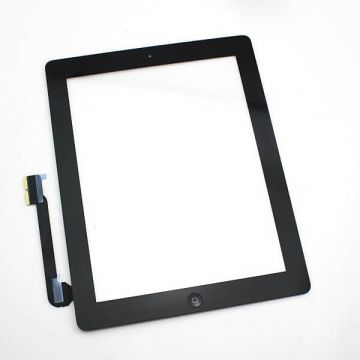 PREMIUM PACK - TOUCH SCREEN GLASS/DIGITIZER ASSEMBLED FOR IPAD 2 BLACK
