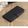 Etui portefeuille stand noir iPhone 5/5S/SE