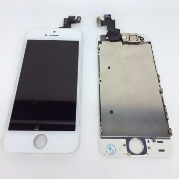 Complete screen kit assembled BLACK iPhone SE (Original Quality) + tools  Screens - LCD iPhone SE - 5