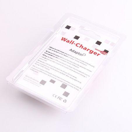 Schwarzes Netzteil USB iPhone iPod CE zertifiziert 1.0 Ampere  Ladegeräte - Batterien externe - Kabel iPhone 4 - 3