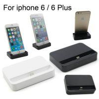 Zwart dockstation voor iPhone 5/5S/5C, iPhone 6/6S en 6plus/6S Plus.  Steunen en dokken iPhone 5 - 2