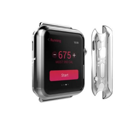 TPU Hoco Clear Case Apple Watch 42mm (Series 2) Hoco Covers et Cases Apple Watch (Serie 2) 42mm - 1