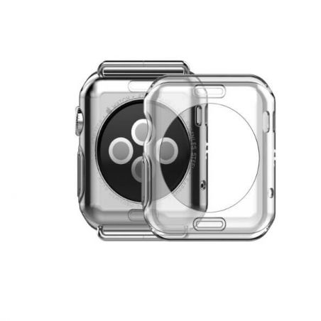 TPU Hoco Clear Case Apple Watch 42mm (Series 2) Hoco Covers et Cases Apple Watch (Serie 2) 42mm - 2